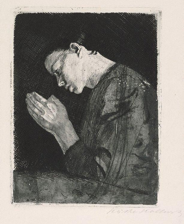 An image of Praying girl