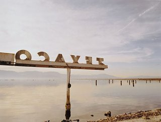 AGNSW collection Michael Corridore Texaco, Salton Sea, California (1999) 94.2000