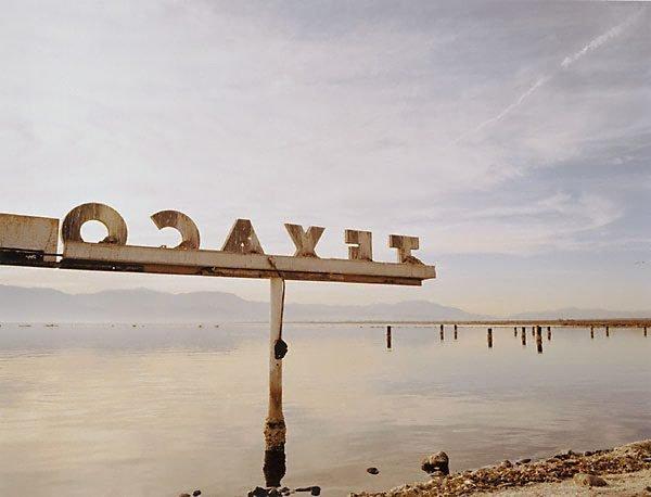 Texaco, Salton Sea, California, (1999) by Michael Corridore