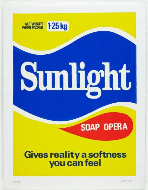 An image of Sunlight soap opera by Richard Tipping
