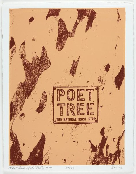An image of Poet tree, 1979 by Richard Tipping