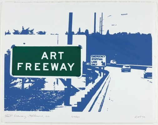 An image of Art freeway by Richard Tipping
