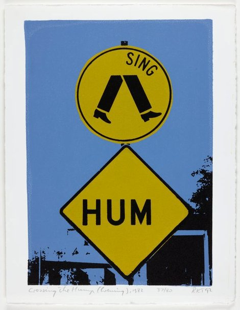 An image of Crossing the hump, 1980-82 by Richard Tipping