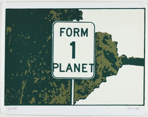 An image of Form one planet, 1992 by Richard Tipping