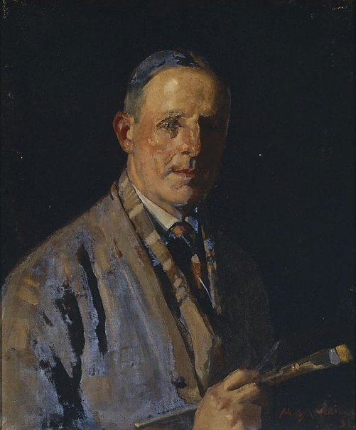 An image of Self portrait by H.B. Harrison