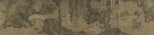 An image of Scholars gathering at the Western Garden by Gu Jianlong