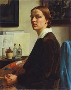 Self portrait, (1932) by Nora Heysen