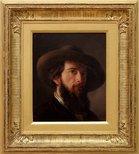Alternate image of Self portrait by Nicholas Chevalier