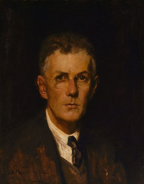 An image of Self portrait by James Muir Auld
