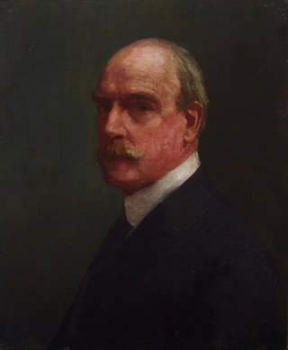 AGNSW collection Arthur Streeton Self portrait 1923