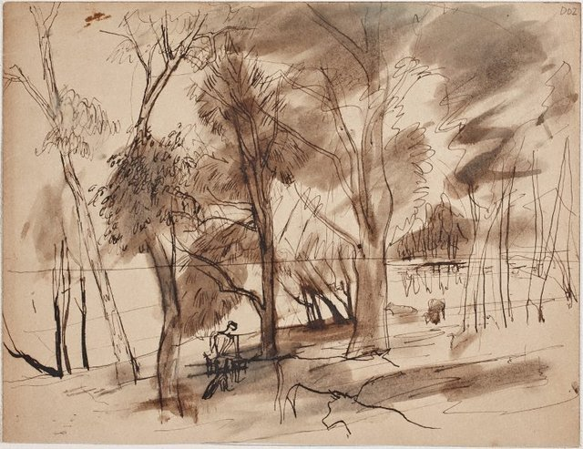 An image of Wangi-trees and cows