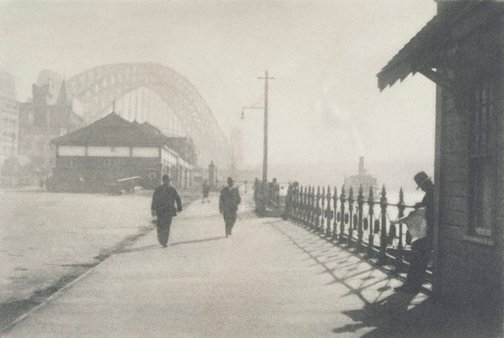 An image of Circular Quay West by George James Morris