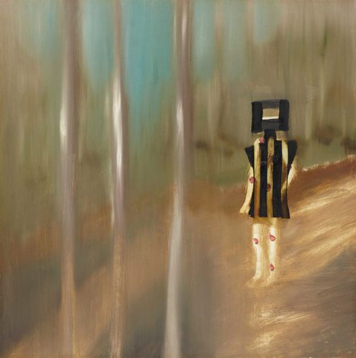 An image of Wounded Kelly by Sidney Nolan
