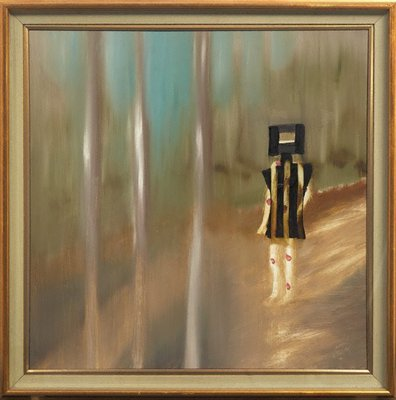 Alternate image of Wounded Kelly by Sidney Nolan