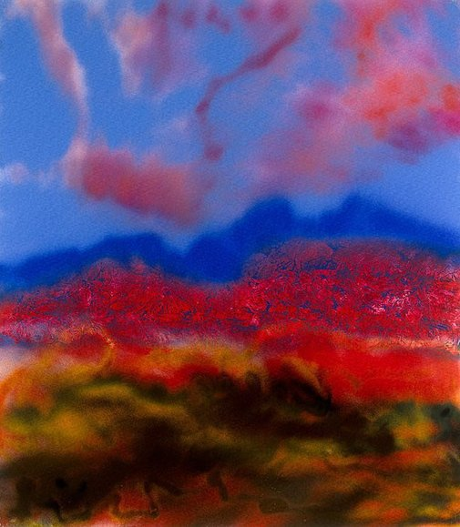 An image of Desert by Sidney Nolan