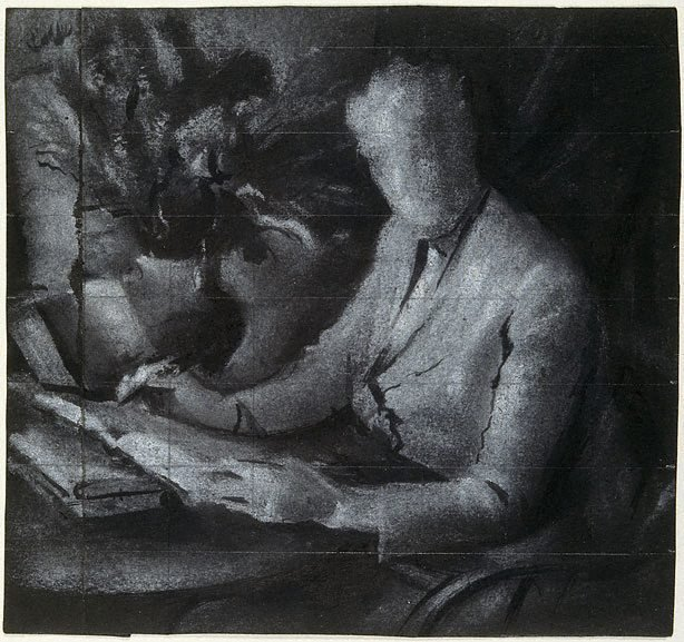 """An image of Study for """"Dame Mary Gilmore"""""""