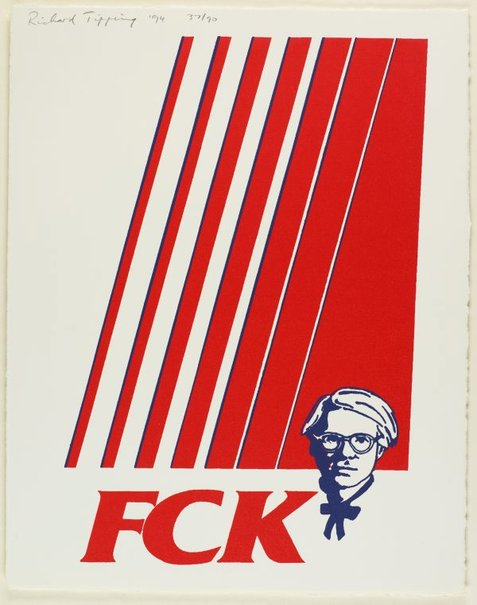 An image of FCK by Richard Tipping