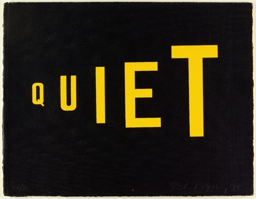An image of Quiet (the shouting zone) by Richard Tipping