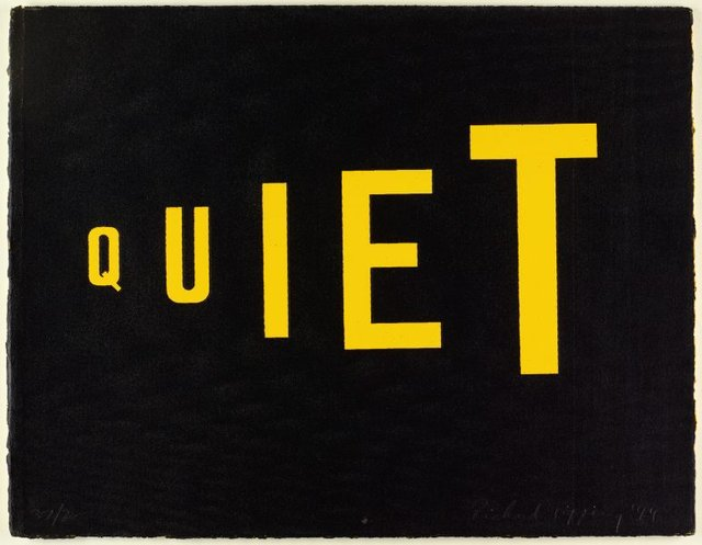 An image of Quiet (the shouting zone)