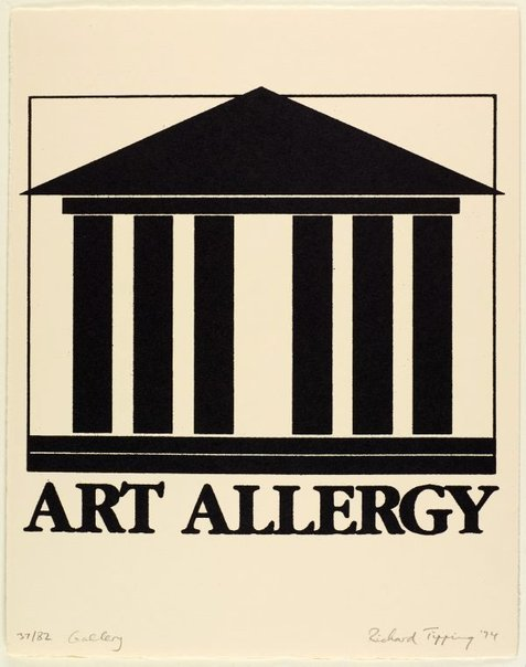 An image of Gallery (Art allergy) by Richard Tipping