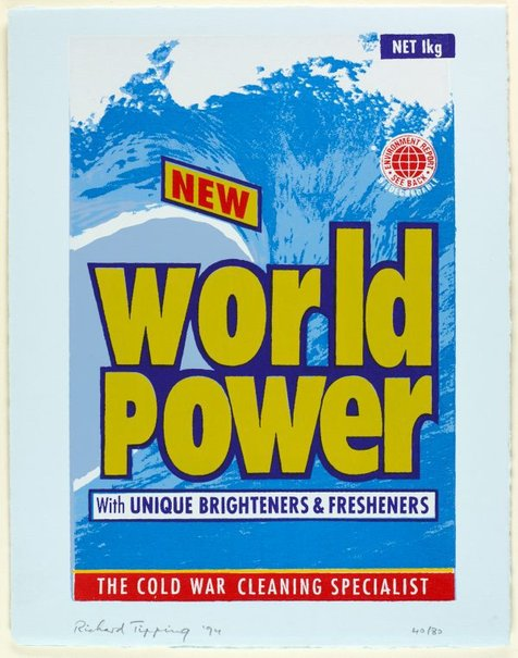 An image of New world power (The cold war cleaning specialist) by Richard Tipping