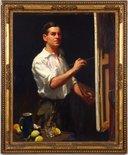 Alternate image of Self portrait by W B McInnes