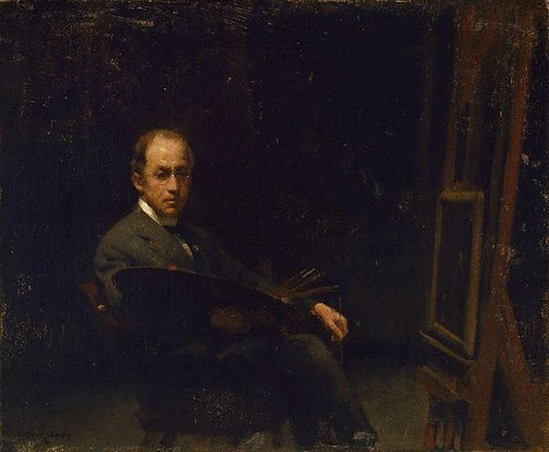 An image of Self portrait by Norman Carter