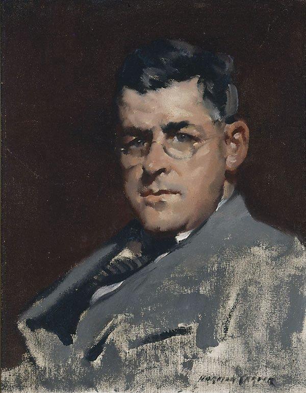 An image of John D. Moore, artist