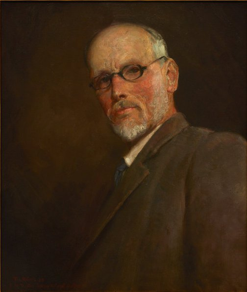 An image of Self portrait by Tom Roberts