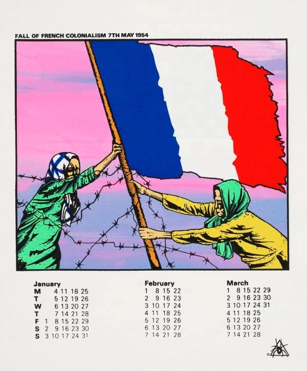 An image of Australian Vietnam Society 1982 calendar