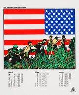 An image of Australian Vietnam Society 1982 calendar by Redback Graphix, Michael Callaghan, Gregor Cullen