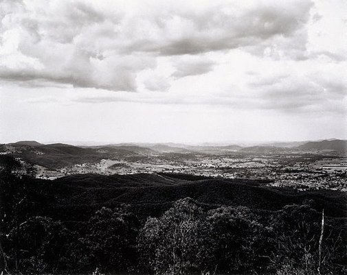 An image of View of Tumut from Wereboldera Mountain, Tumut State Forest by Peter Elliston