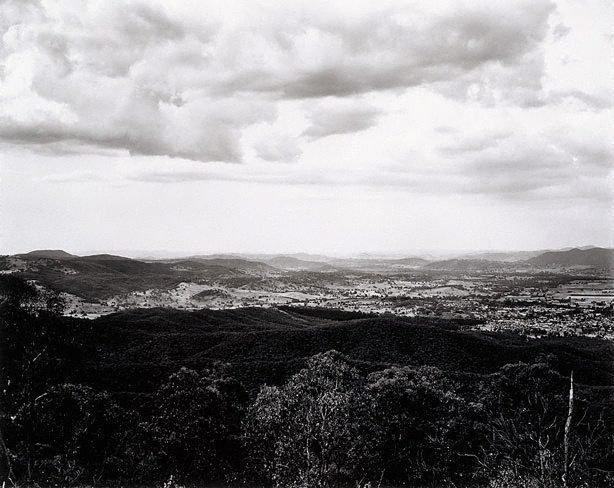 View of Tumut from Wereboldera Mountain, Tumut State Forest, (1983) by Peter Elliston