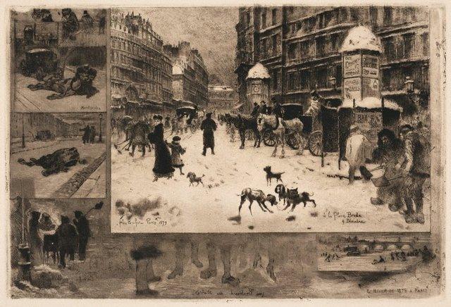 An image of L'hiver à Paris