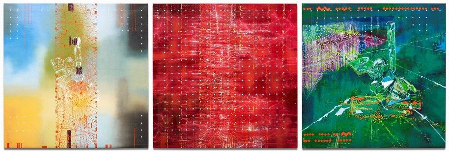 AGNSW collection Jon Cattapan Imagine a raft: hard rubbish 4+5 (2012) 96.2013.a-c