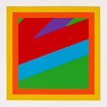 Alternate image of Nine linocuts by Sol LeWitt