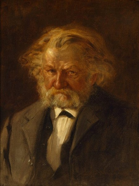 An image of The musician (portrait of Josef Kretschmann) by J.S. Watkins