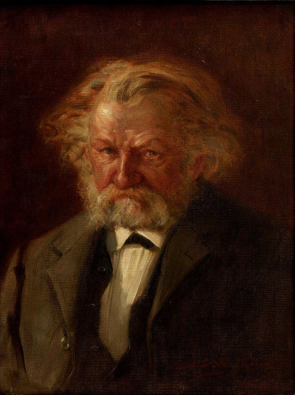 An image of The musician (portrait of Josef Kretschmann)