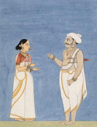 AGNSW collection Company school A Hindu of the warrior caste circa 1770