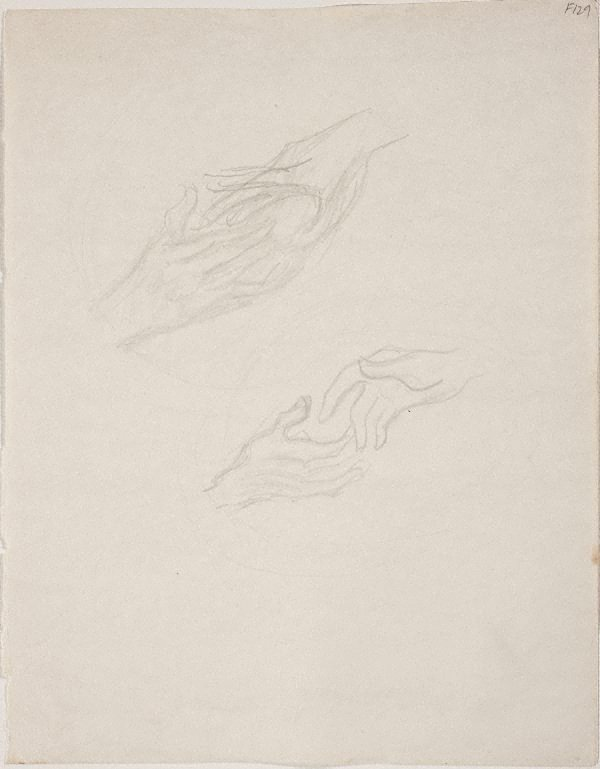 An image of (Study of hands) (Late Sydney Period)