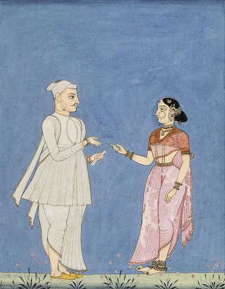 AGNSW collection Company school A Brahmin official circa 1770