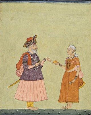 AGNSW collection Company school A religious mendicant circa 1770