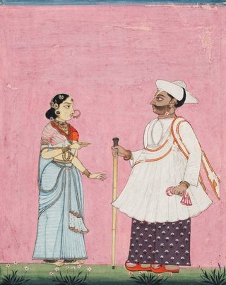 AGNSW collection Company school A Hindu of the Carnatic circa 1770