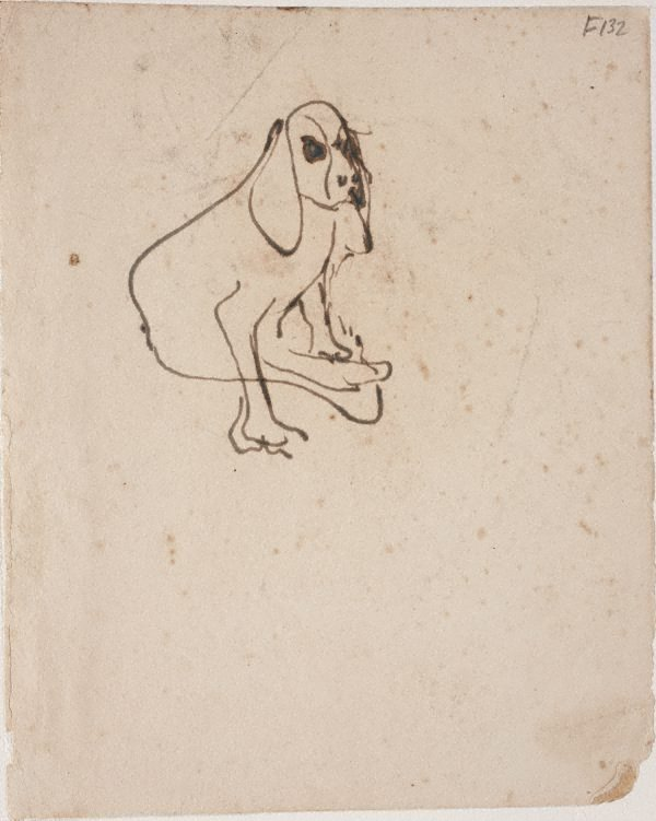 An image of (Dog) (Late Sydney Period)