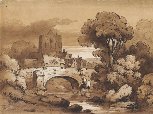 An image of The stone bridge by James Robertson