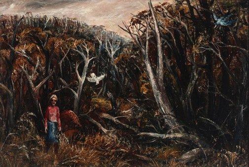 An image of Landscape near Yallourn by Arthur Boyd