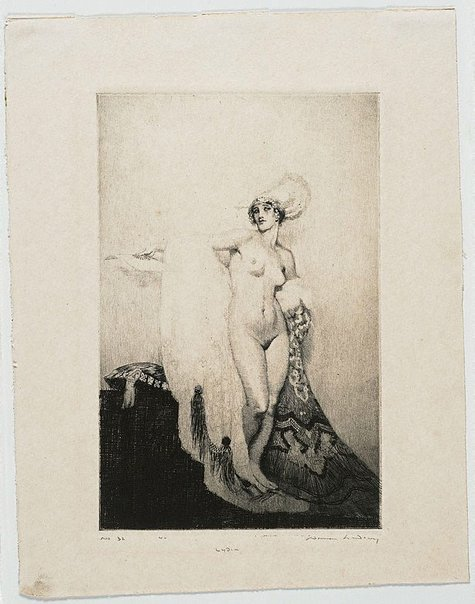 An image of Lydia by Norman Lindsay