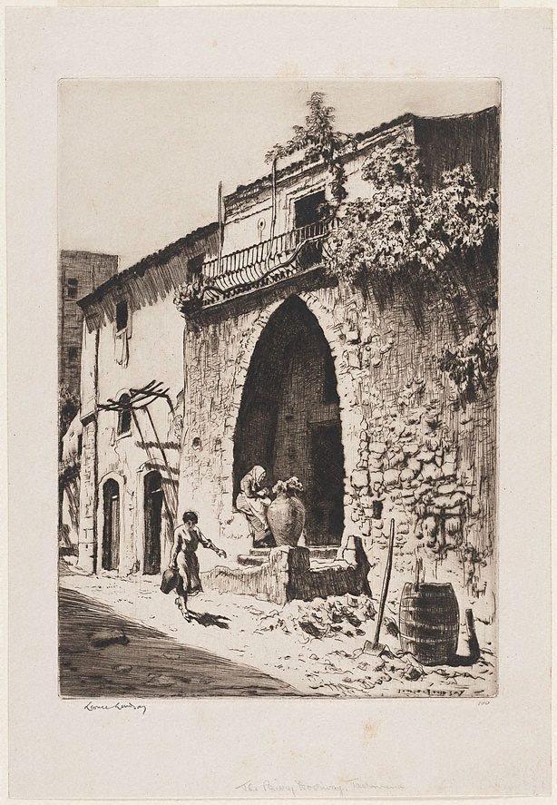 An image of The priory doorway, Taormina