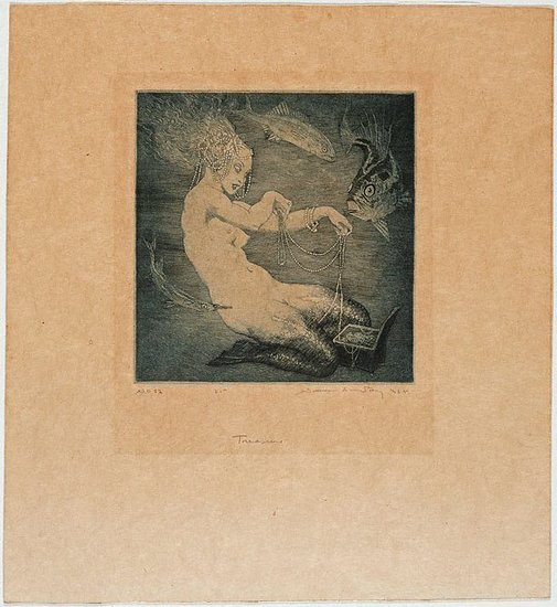 An image of Treasure by Norman Lindsay