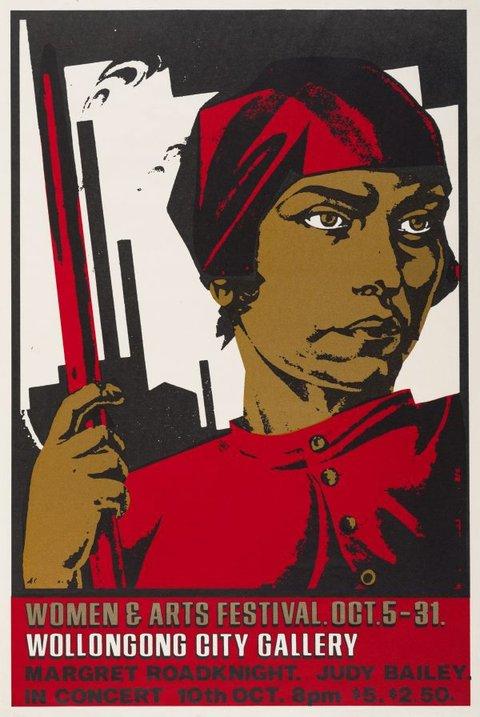 Women and arts festival, 1982 by Redback Graphix, Gregor Cullen